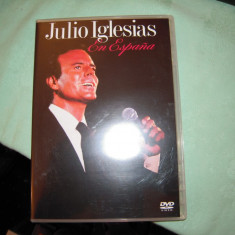 DVD original concert Julio Iglesias - En Espagna (LIVE - 1989), Columbia