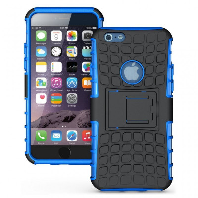 Husa antisoc pentru iPhone 6 / iPhone 6S Culoare Albastru foto