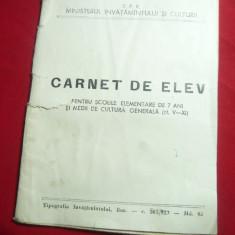 Carnet de Elev - 1963 RPR