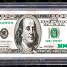Lingou 100 Dollars Bancnota 100 Dolari Bullion Bar One Hundred US Dollars