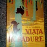 M. A. IONESCU - VIATA IN PADURE