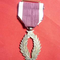 Ordin al Coroanei Belgiei - Silver Palm cl.IIa ,argint ,1939-1945