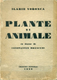 Plante si Animale - Ilarie Voronca - Colectia Integral 1929- Avangarda