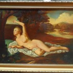 Tablou nud, Ulei, Impresionism