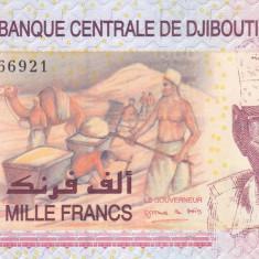 Bancnota Djibouti 1.000 Franci 2005 - P42 UNC