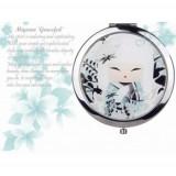 "Oglinda de buzunar colectia ""Miyuna"" by Kimmidoll"