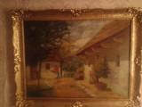 Tablou ROMANESC, Peisaje, Ulei, Altul
