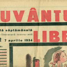 Cuvantul Liber - revista saptamanala nr.22-07 aprilie 1934