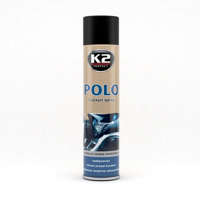 K2 Spray Silicon Polo Cockpit Fahren 300ML