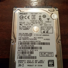 HDD HGST 1TB Laptop 2,5, 500-999 GB, 5400, SATA 3