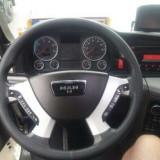 Husa de volan pentru camion, din piele, dimensiuni 42,45 cm