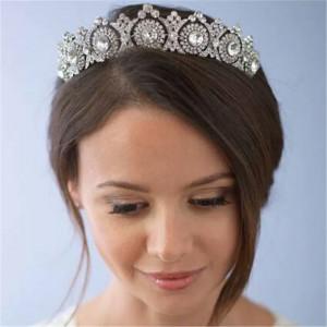Diadema,tiara argintie