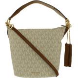 Geanta Michael Kors Dama Large Elana East West Leather Top-Handle Bag Tote - Bej, Michael Kors