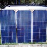 PANOURI FOTOVOLTAICE 125W NOI ! U.E.  sist 12V ev. Regulator Solar Rulote Ferme, Fotovoltaic