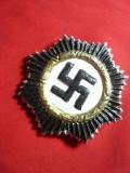 Insigna militara germana cu Zvastica - Copie , h= 6,5 cm