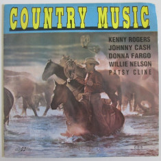 Raritate! Vinil LP 12'' Country Music-Eurostar 1993,Copyright by I.M.P.France