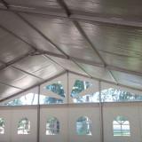 Vand cort structura aluminiu 15x30m-NOU-
