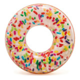 Colac inot Rainbow Donut, 114 cm, Multicolor, Intex