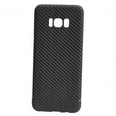 Husa de Carbon NEVOX pentru Samsung Galaxy S8 Plus, Black