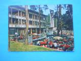 HOPCT 37665  RAMNICU VALCEA HOTEL CAPELA IN ANUL 1974  -JUD VALCEA-CIRCULATA