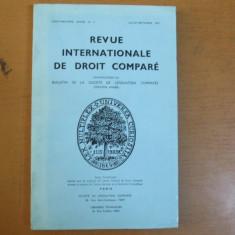 Revista internațională de drept comparat nr. 3/1977 Paris