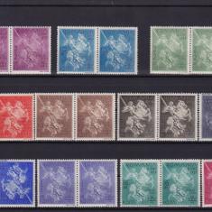 ROMANIA 1939  LP 131  STRAJA  TARII  SFANTUL GHEORGHE  PERECHE SERII MNH