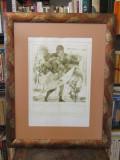 DAN ERCEANU-ARCAS I  (GRAVURA), Scene lupta, Carbune, Altul