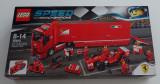 LEGO Speed Champions 75913 F14 T camionul echipei Ferrari Scuderia Ferrari Truck