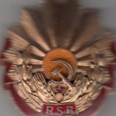 ROMANIA 1960   ORDINUL  MUNCII  CLASA  a-III-a