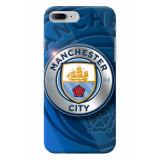 Husa Hardcase iPhone 7 Plus Manchester City 3, iPhone 7/8 Plus, Plastic, Carcasa, Apple