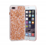 Husa Fashion Case-Mate Karat Apple iPhone 8 Plus / 7 Plus Rose Gold, iPhone 7/8 Plus, Plastic, Carcasa, Case-Mate