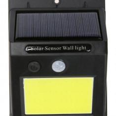 Lampa Solara Cu Senzor Miscare Si Acumulator 48 LED-uri COB