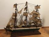 Corabie veche,cu panze,macheta,navala,Rainbow ship 1845, Alta