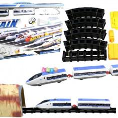 Pista de tren de mare viteza cu 80 de piese