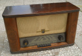 Radio vintage pe lampi anii '50 Philips Uranus 53, Analog, 0-40 W