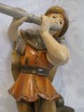 BIBELOU / STATUETA DIN LEMN - PIESA HAND MADE 23 CM