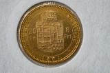 20 francs /8 florini 1881 - Imp. Austro Ungar - AUR, Europa