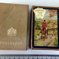 CARTI JOC VINTAGE - WADDINGTONS /ENGLAND - COMPLETE