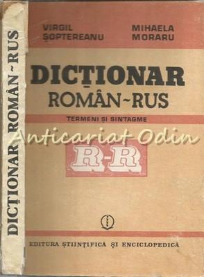 Dictionar Roman-Rus - Virgil Soptereanu, Mihaela Moraru foto mare
