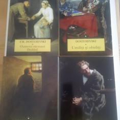 DOSTOIEVSKI - LOT 4 Carti:  Crima si pedeapsa, Umiliti si obiditi etc (NOI)