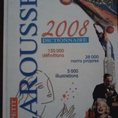 ENCICLOPEDIE LAROUSSE  DICTIONNAIRE( ILUSTRATII ) - 2008