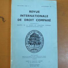 Revista internațională de drept comparat nr. 3/1976 Paris