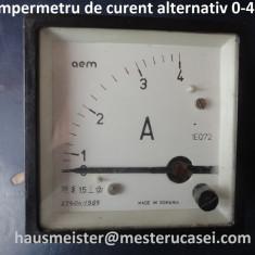Ampermetru de curent alternativ 0 - 4 A