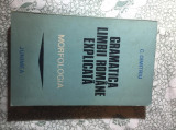 Gramatica limbii romane explicata morfologia C. Dimitriu
