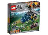 LEGO Jurassic World - Urmarirea elicopterului albastru 75928