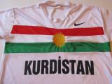 Tricou fotbal - nationala din KURDISTAN, L