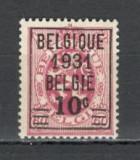 Belgia.1931 Stema-supr.  MB.27, Nestampilat