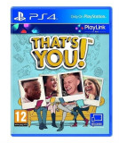 That's You  - PS4 [Second hand] cad, Board games, 18+, Multiplayer