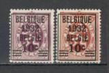 Belgia.1932 Stema-supr.  MB.29, Nestampilat