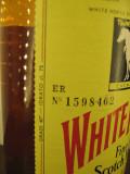 Whisky WHITE HORSE , finest ol scotch whisky,  cl 75 GR 40 ani 50 STICLA 1598462